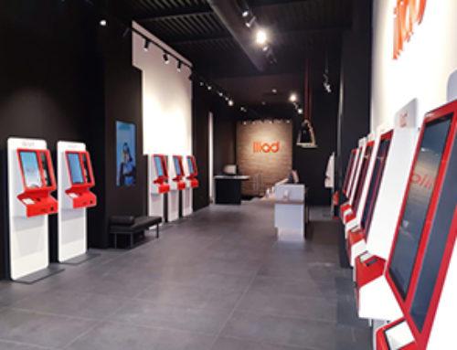 Développement de l'offre téléphonie Mobile d'Iliad en Italie