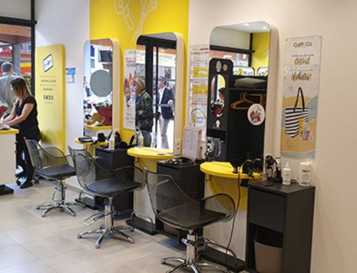 Nouveau concept de salons de coiffure Coiff&Co